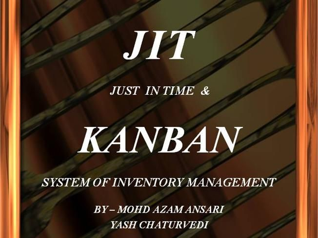 just in time inventory system Just-in-time inventory is a common strategy used by production and resale businesses to balance customer service with lean operational objectives with jit, companies.