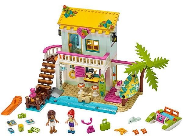 Friendsbricks 2020 Summer Friends Sets In 2020 Lego Friends Lego Friends Elves Lego Friends Party