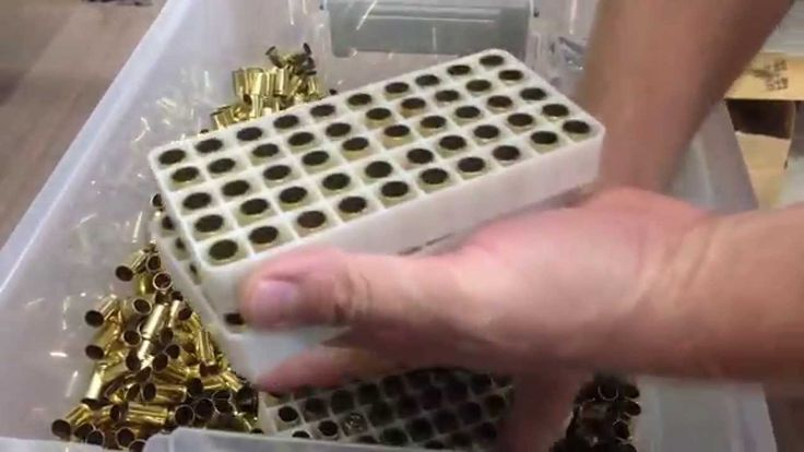Counting & Sorting Pistol Brass for Reloading 9mm