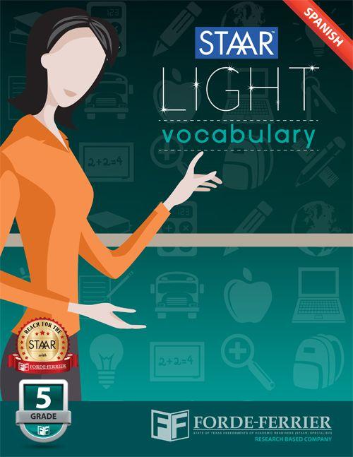 20 best staar resources images on pinterest standardized test texas staar light vocabulary workbook grade 5 spanish fandeluxe Images