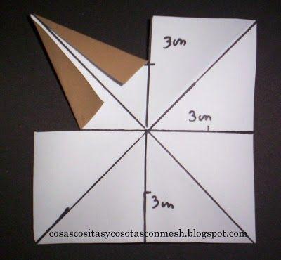 Como hacer una estrella de papel grande paso a paso el - Origami de una estrella ...