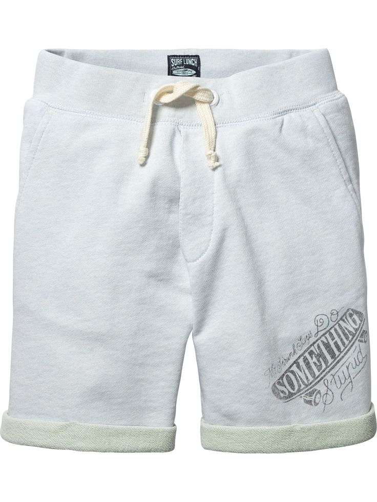 Two Tone Sweat Shorts |Sweat / Jersey Pants|Boys Clothing at Scotch & Soda