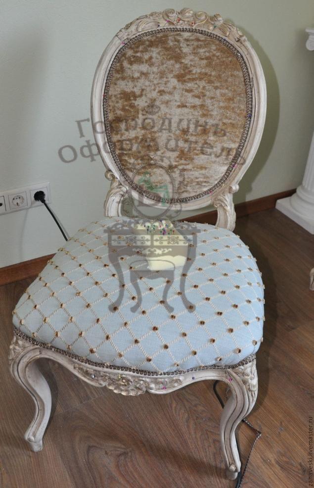 Обивка стула: пошаговый мастер-класс - Ярмарка Мастеров - ручная работа, handmade