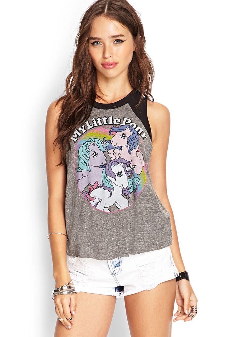 My Little Pony Muscle Tee | FOREVER21 #SummerForever