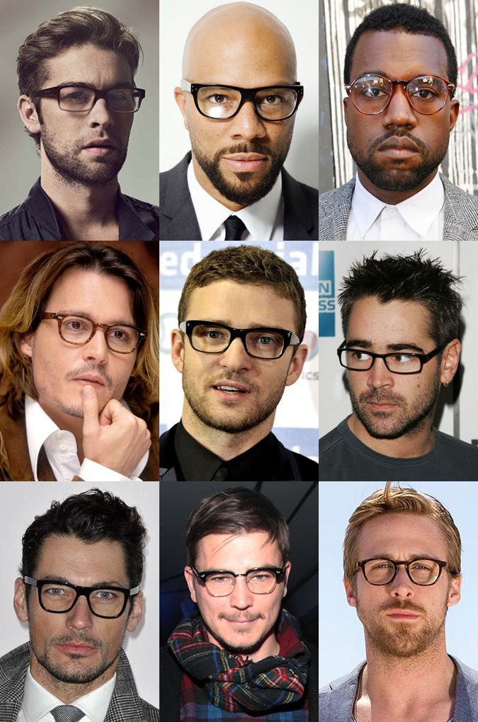 "Men's Celebrity Glasses/Spectacles Looks  Do you live in the San Francisco area? Find your personal eyewear style at  Art and Science of Eyewear, Downtown Lafayette - Custom ""BeSpoke"" Eyewear and Designer Ready to Wear options. www.artandscienceofeyewear.com"