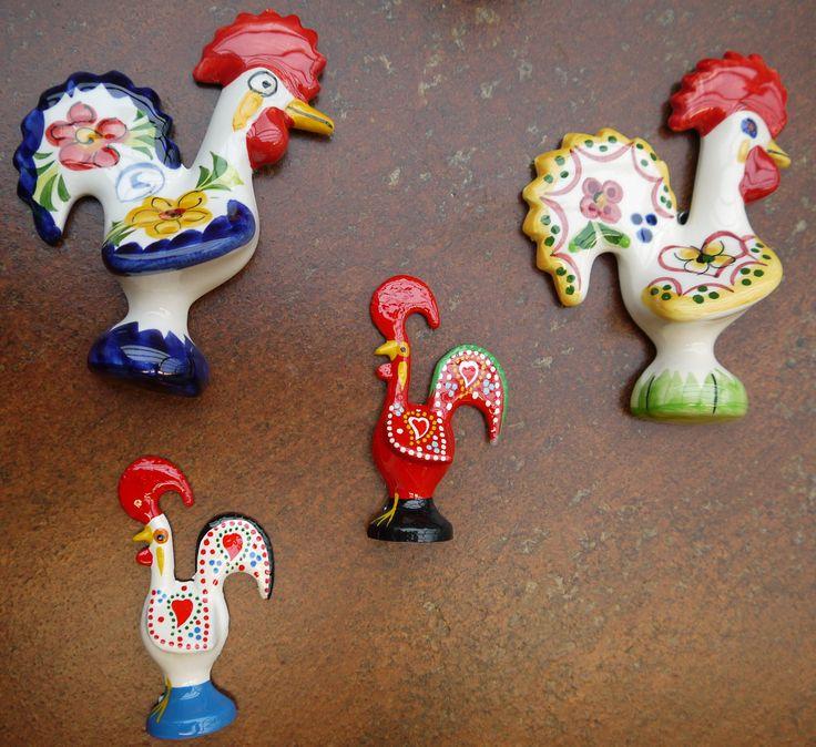 Rooster Magnets #WinterArtMarket2015