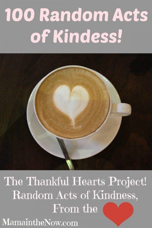 100 Random Acts of Kindess