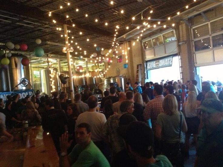 Bold City Brigade Party at Intuition Brewery --- Yeah Smoker was LOADED !!!