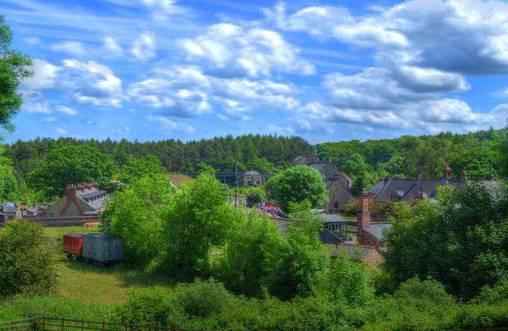 Beamish Town HDR