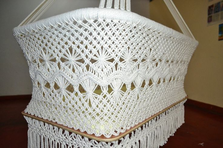 Baby Hanging Bassinet, Hanging Cradle, Hanging Crib 100% Handmade Organic Cotton - Classic - Mission Hammocks - 1