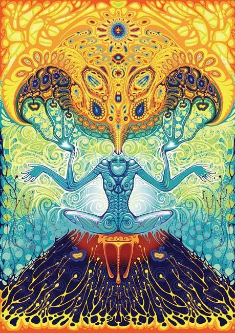 art trippy drugs lsd high acid psychedelic stoner stoned meditation good times good vibes yoga dmt fractals meditate mushrooms salvia hallucinate hallucinogen