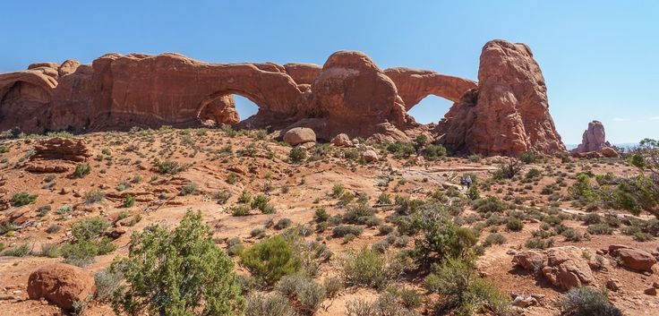 arches-national-park the windows