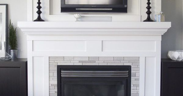 Fireplaces, TVs and The plan on Pinterest