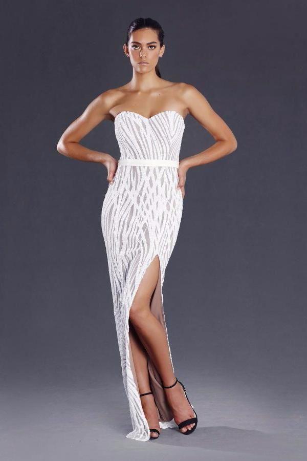 Dorable Comprar Vestidos De Fiesta En Línea Australia Ornamento ...