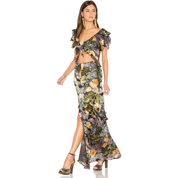 High low maxi dress by love