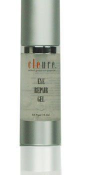 Cleure Eye Repair Gel - Reduce Dark Circles, Puffiness, Fine Lines by Cleure. $25.00. best eye cream. eye cream for dark circles. eye cream for wrinkles. eye cream for puffiness. eye gel for puffiness and dark circles. Cleure Eye Repair Gel Advanced Complex formula restores and revitalizes appearance of fine lines, dark circles and puffiness.  Paraben free.  For all skin types. #eyecreamsforpuffiness