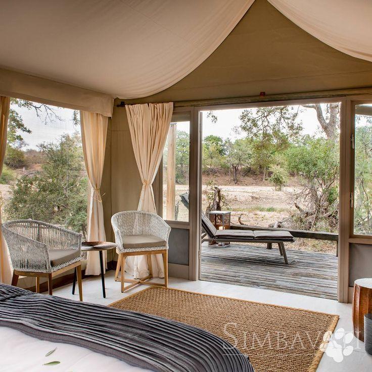 Intimate and friendly accommodation. Simbavati River Lodge, South Africa