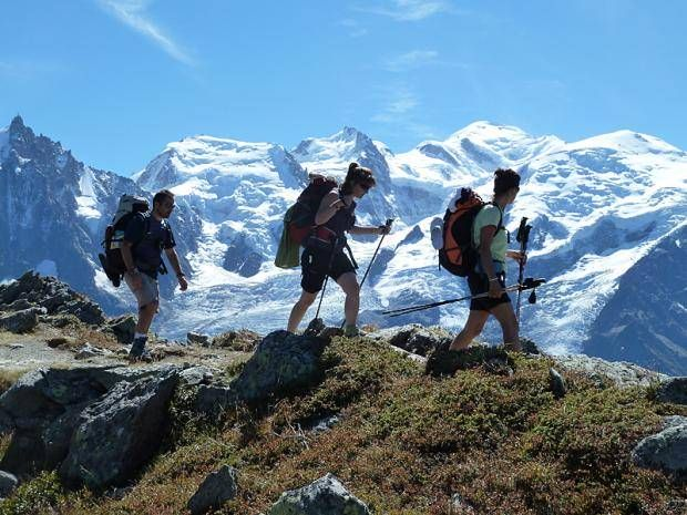 Tour du Mont Blanc Week, Trek famous circuit in one week from Switzerland to France