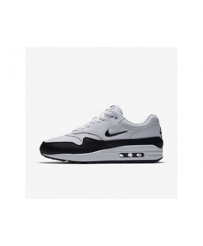 reputable site 9359a 77e97 Online Nike Air Max 1 Premium SC Men s White Black Black Shoes, 918354-100