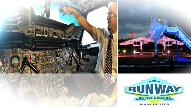 flygcforum.com ✈ CONCORDE ✈ Cockpit Visit at Manchester Airport ✈