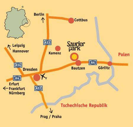 Saurierpark – der Freizeitpark in Sachsen bei Dresden