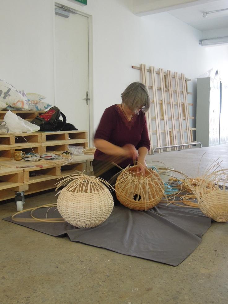Yarn basket weaving supplies : Best images about basket weaving on