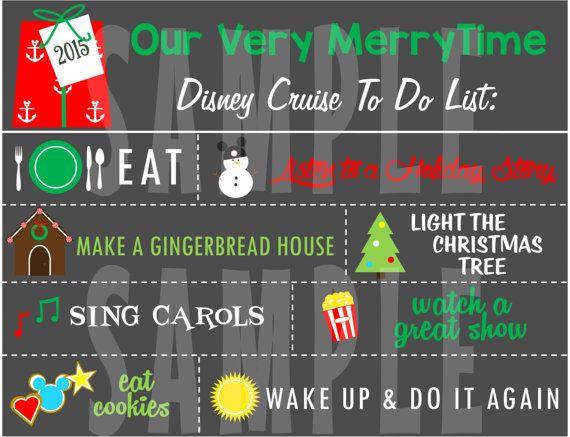 PRINTABLE Disney Cruise Very MerryTime by TiffanyandGirls on Etsy