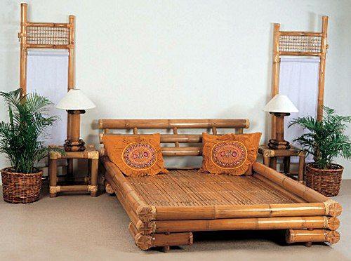 Bamboo Beds Design Photos Eco Building Bamboo