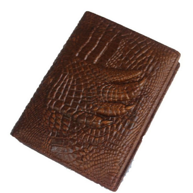 MARRANT Luxury Men Wallets Genuine Leather Men's Wallets Vintage Designer Alligator Pattern Men Wallet Money Clip Carteira