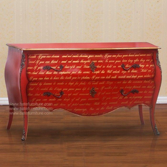 Mahogany Wood  Finishing : Painted Furniture -  Manufacturer : PT. Bate Furniture Industries