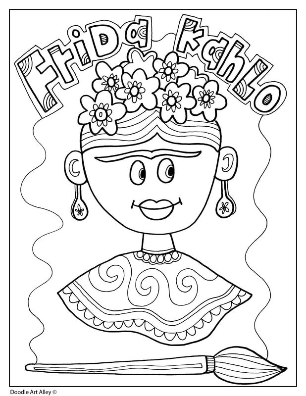 Hispanic Heritage Month Classroom Doodles Hispanic Heritage Month Crafts Hispanic Heritage Month Activities Hispanic Heritage