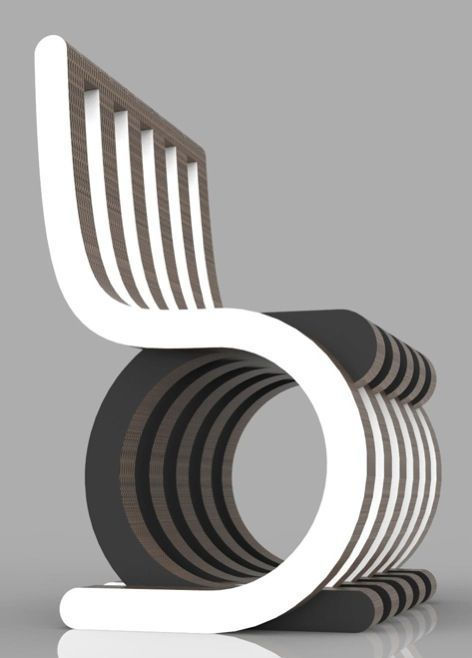 Twist Chair by Giorgio Caporaso
