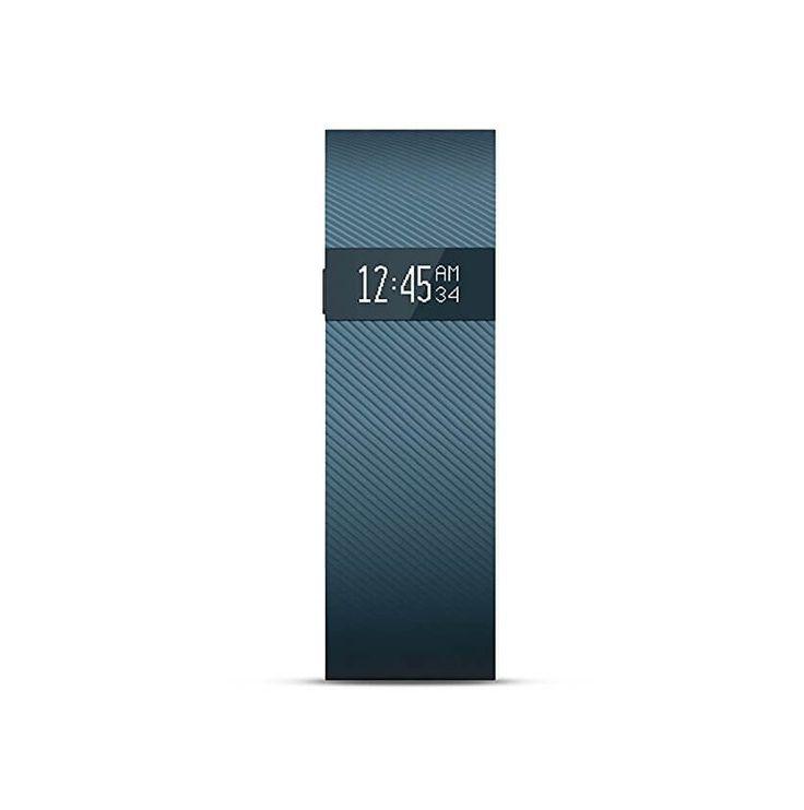Fitbit Charge Large Size - гривна с дисплей за следене на дневната и нощна активност на организма за iOS и Android (син):… www.Sim.bg