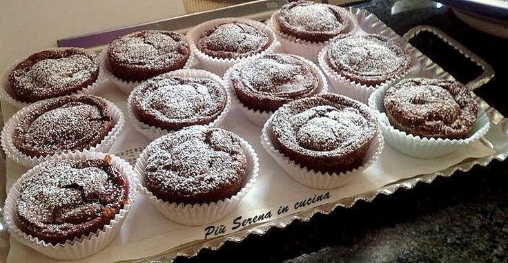 Grazie a Marisa Nuvoli per averci regalato la ricetta di questi buonissimi tortini al cacao una bontà che piacerà sicuramente ai grandi ed ai più piccoli.