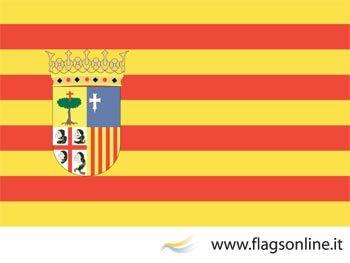 ARAGONESI   Gli adesivi con la bandiera di Aragona sono prodotti 100% italiani.