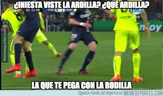 Los mejores memes del PSG-Barcelona: Cuartos Champions - LIGA ESPAÑOLA 2015