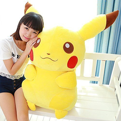 large stuffed pikachu Plush toy pokemon pikachu pillow doll super large dolls gift christmas gifttoys for girls birthday gift