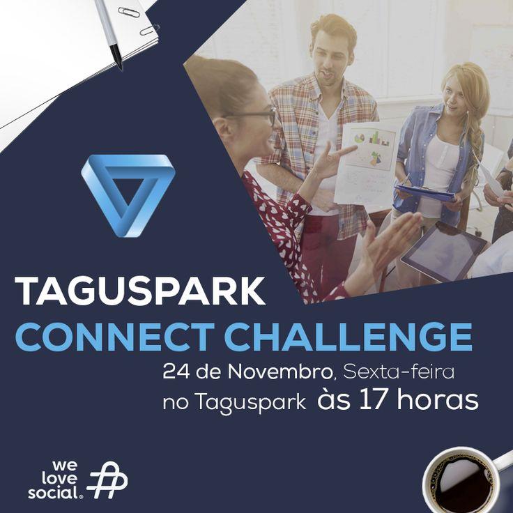 O Taguspark Connect Challenge foi desenhado para ser um evento dinâmico, intenso, criativo, interactivo, solidário e inesquecível. E a We Love Social tem o prazer de ser uma das participantes! Se também faz parte das empresas do Taguspark, inscreva-se em http://bit.ly/connect_challenge