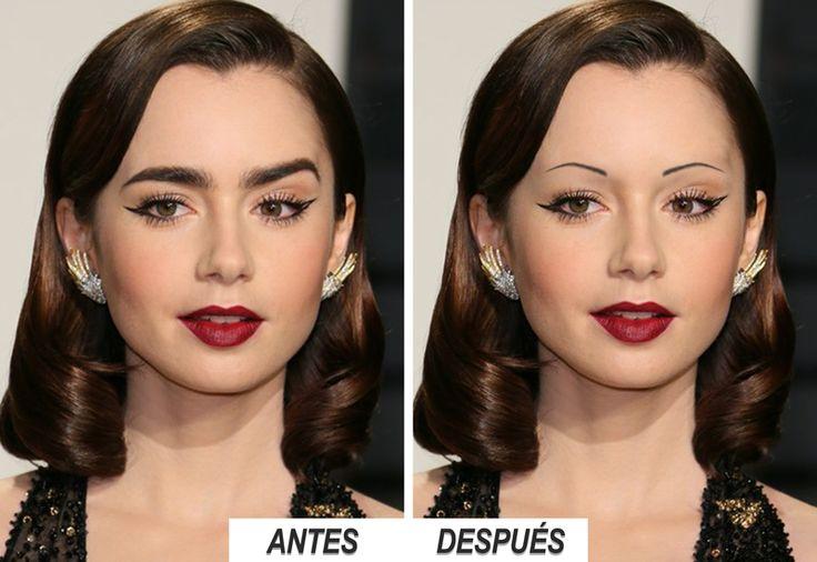 Cómo serían las celebrities con otras cejas - Trasplante, implante y microinjerto de cejas para mujeres