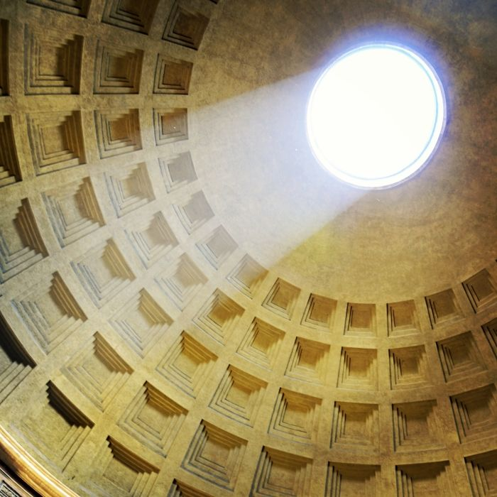 Foto des Tages: Licht ins Dunkel, Pantheon, RomPhoto of the day: Sunny breakthrough, Pantheon, Rome