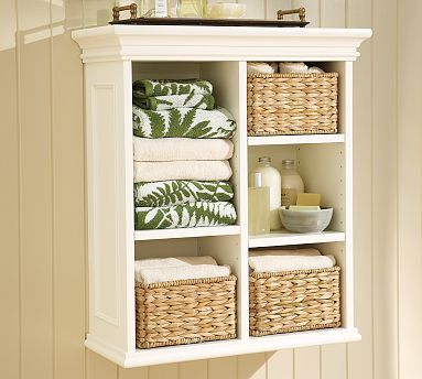 Pottery Barn Bathroom Cabinet