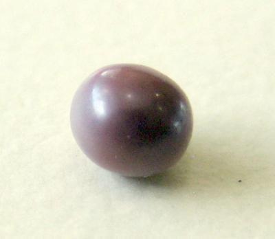 Dark & Light Natural Purple Pearl: Type of pearl: Blue Mussel - saltwater   Shape: Roundish   Size in mm: 3x3mm   Color: Dark Purple & Light Purple   Location of Origin: Atlantic Ocean -