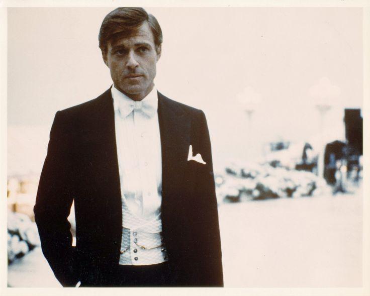 Jay Gatsby.Robert Redford, 1974.