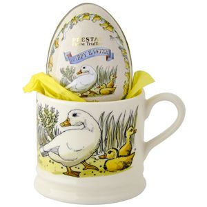 """Easter"" Year in the Country Easter Baby Mug 2014 filled with Truffles at Emma Bridgewater"