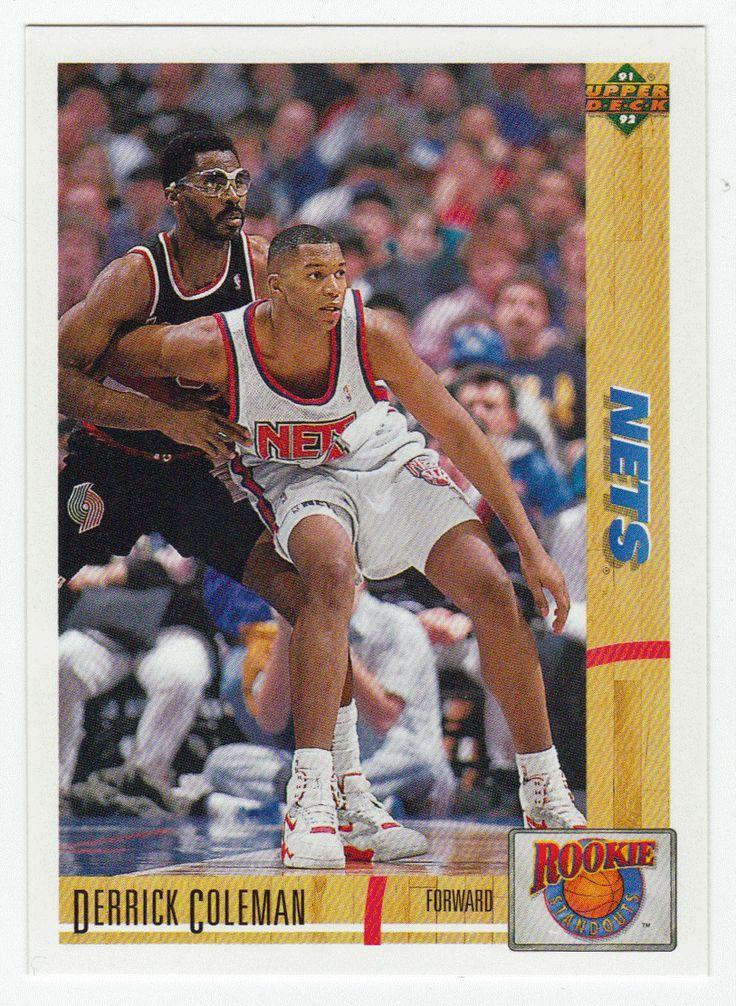 Derrick Coleman R 10 199192 Upper Deck Basketball