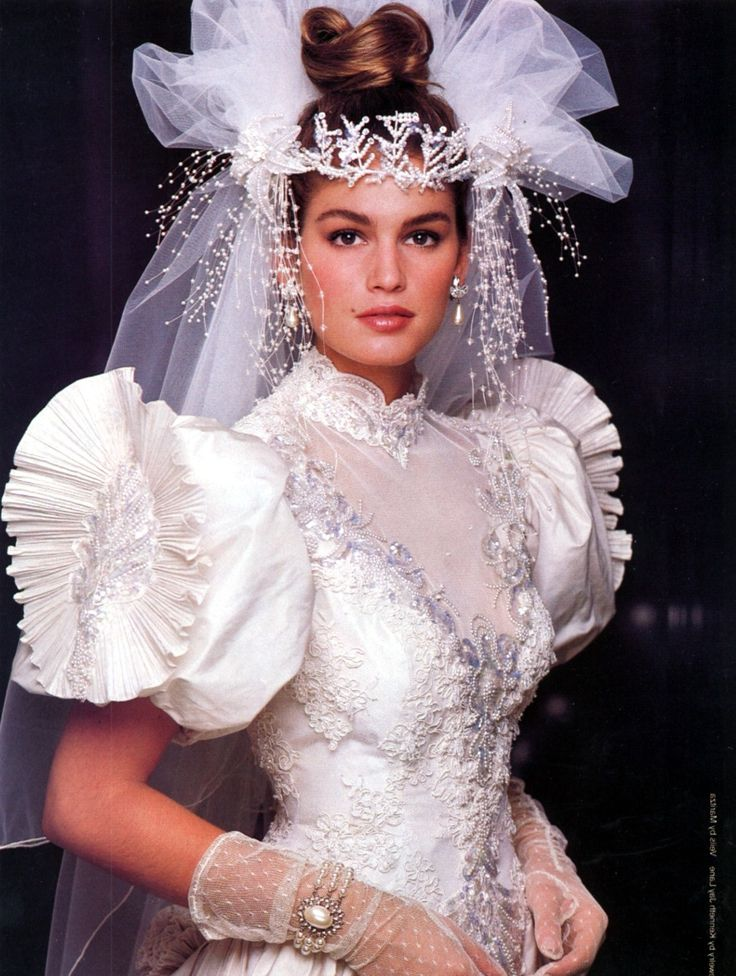 80'S Wedding Dress   Wedding Dress   Ugly wedding dress ...