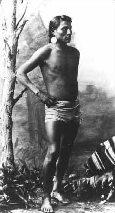 Deerfoot (Api-kai-ees), the legendary Blackfoot runner