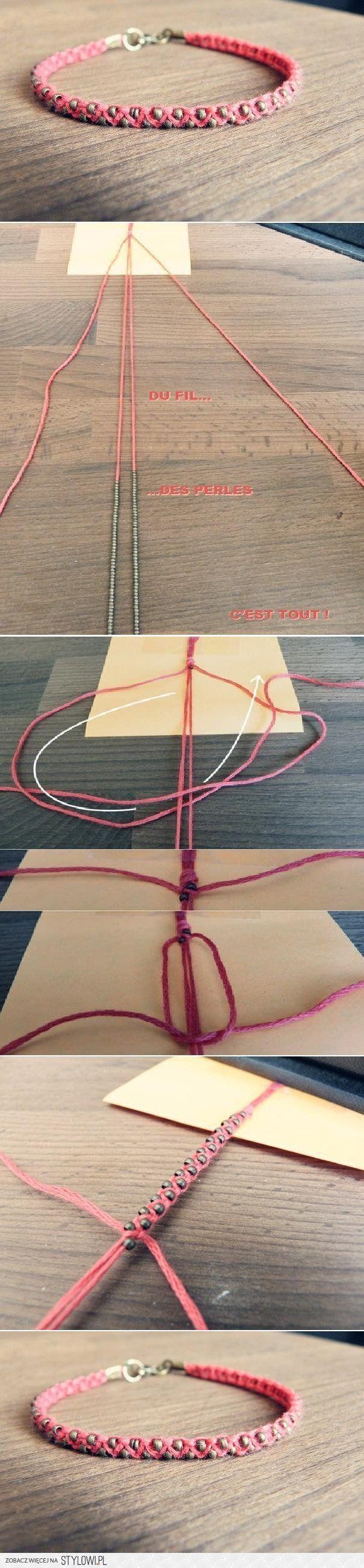 DIY Zaledwie Weave Projekty DIY Bransoletki | UsefulDIY… na Stylowi.pl