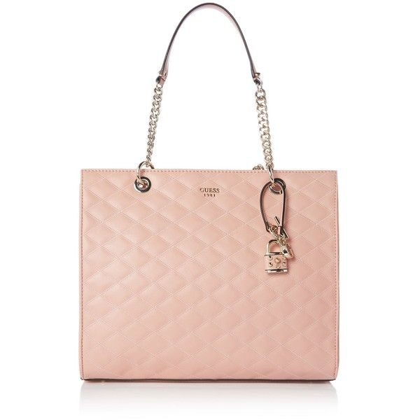 Guess Penelope Shopper Bag (€110) ❤ liked on Polyvore featuring bags b9ec3c1636