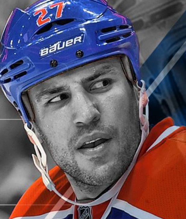 It's a dream and really hard goal to achieve but to have that person to look up to and to know it's possible makes you drive more to make the NHL. Milan Lucic